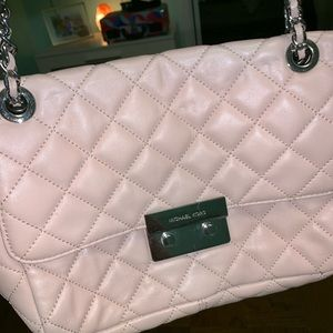 Pink Michael Kors Crossbody/Shoulder Bag